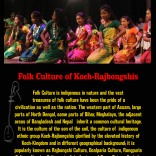 Folk Culture of Koch-Rajbongshis