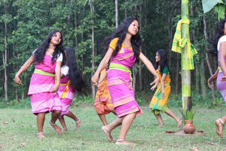 koch rajbongshi folk dance hudum