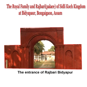 The entrance of Rajbari Biyapur